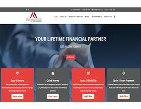 Amandla Financial Service Website