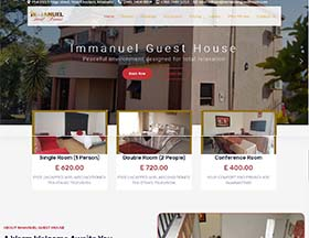 Immanuel Guest House Website