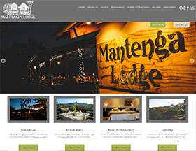 Mantenga Lodge Website